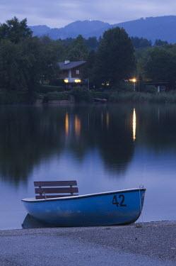 Carmen Spitznagel BOAT ON LAKE Boats