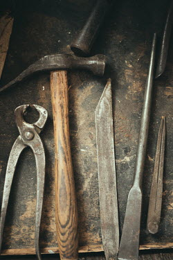 Maren Becker ASSORTED OLD TOOLS Miscellaneous Objects