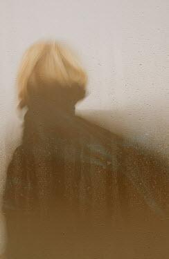 Liz Dalziel BLURRED WOMAN IN RAIN Women