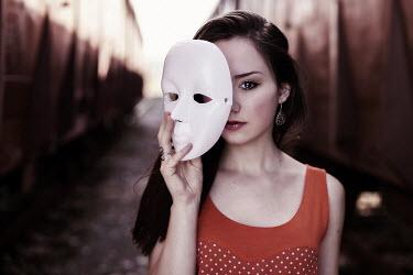 Maja Topcagic TEENAGE GIRL WITH MASK Women