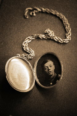 Trevor Payne LOCKET WITH PHOTOGRAPH Miscellaneous Objects