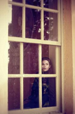 Stuart Brill GIRL SITTING IN WINDOW Women
