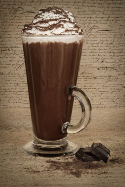 Emma Goulder CHOCOLATE DRINK WITH WRITING Miscellaneous Objects
