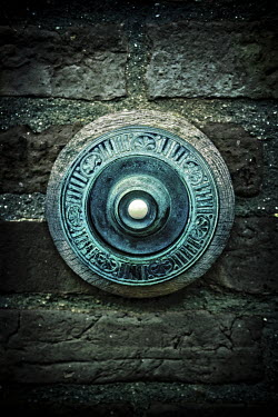 Nic Skerten OLD BRASS DOOR BELL Building Detail