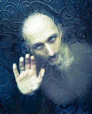 Graham Hunt SINISTER MAN BEHIND GLASS WINDOW Men