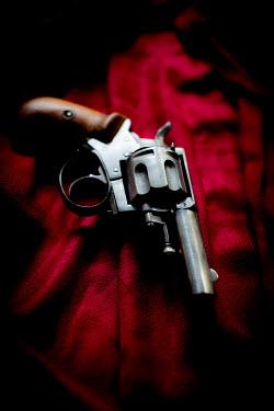 Laura Blost OLD GUN ON VELVET Weapons