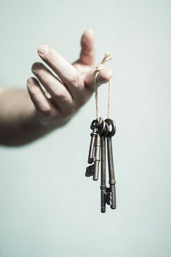 Catherine Macbride HAND WITH OLD KEYS Miscellaneous Objects