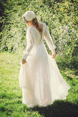Claire Morgan WOMAN IN WEDDING DRESS Women