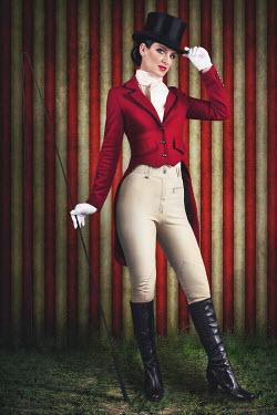 Emma Goulder WOMAN DRESSED AS RINGMASTER Women