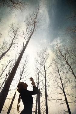 Hanna Nemeth WOMAN IN FOREST Women