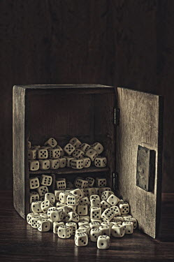 Mohamad Itani WOODEN BOX OF DICE Miscellaneous Objects