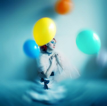 Raluca Deca WOMAN WITH BALLOONS Women