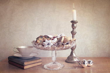 Jasenka Arbanas CUP, BOOKS, CANDLESTICK, PLATTER OF CAKES Miscellaneous Objects
