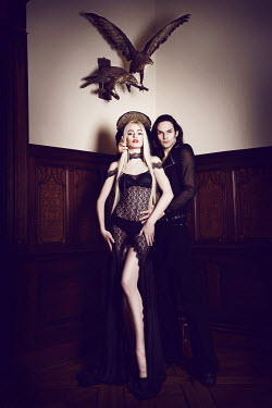 Viona Ielegems YOUNG GOTHIC COUPLE INDOORS Couples