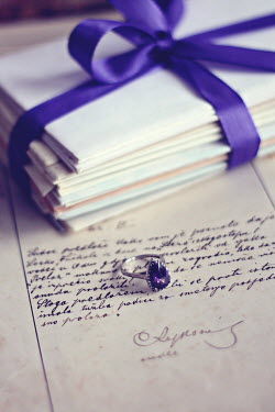 Jasenka Arbanas LETTERS TIED WITH RIBBON AND RING Miscellaneous Objects