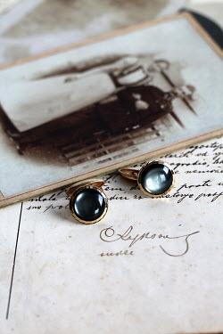 Jasenka Arbanas OLD PHOTOGRAPH, CUFFLINKS AND HANDWRITTEN LETTER Miscellaneous Objects