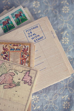 Susan O'Connor LETTERS WITH FOREIGN STAMPS Miscellaneous Objects