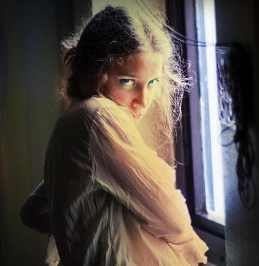 Metin Demiralay COY YOUNG GIRL BY WINDOW Women