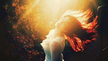 Samantha Meglioli WOMAN DANCING IN SUNLIGHT Women