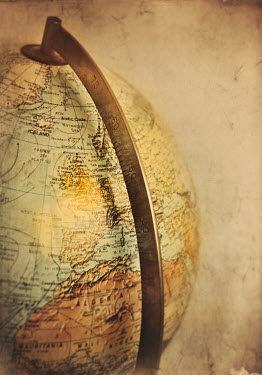 Lyn Randle ANTIQUE GLOBE Miscellaneous Objects