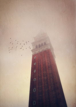 Mark Owen CAMPANILE ST MARKS SQUARE VENICE, IN MIST Miscellaneous Cities/Towns