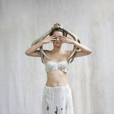 Jennifer Hudson WOMAN WITH ANTLERS ON HEAD Women