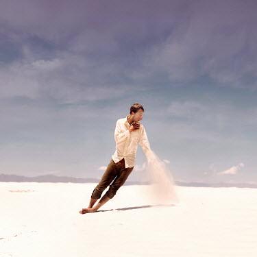 Joel Robison YOUNG MAN ON WHITE SAND Men