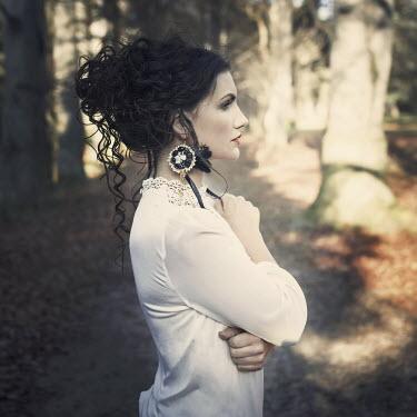 Aria Baro YOUNG WOMAN IN WOODS Women