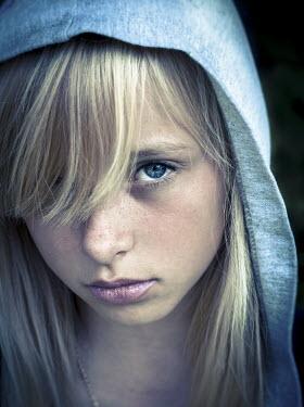 Graham Hunt TEENAGE GIRL WITH HOOD Women