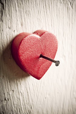 Jitka Saniova HEART NAILED TO THE WALL Miscellaneous Objects