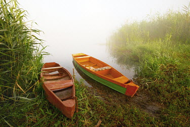 Vitali Bolucevschi TWO CANOES BY WATER Boats