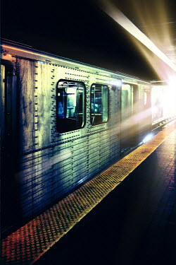 Victor Habbick TRAIN AT STATION Railways/Trains