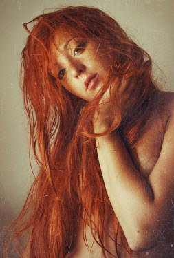 Chiara Fersini NAKED RED HAIRED WOMAN Women