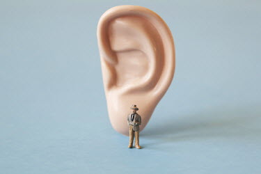 Ann Cutting MODEL OF MAN BY PLASTIC EAR Miscellaneous Objects