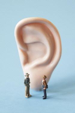 Ann Cutting MODEL OF MEN BY PLASTIC EAR Miscellaneous Objects