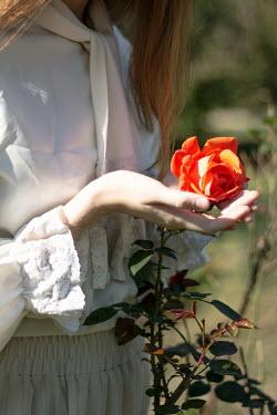 Michalina Wozniak YOUNG WOMAN WITH ROSE Women