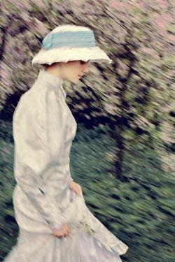Yulya Saponova YOUNG WOMAN IN HISTORICAL DRESS Women