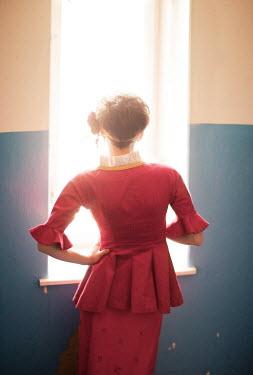 Yulya Saponova YOUGN WOMAN BY WINDOW Women