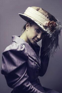David Pairé HISTORICAL WOMAN IN HAT Women