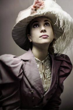 David Pairé HISTORICAL WOMAN IN HAT Women