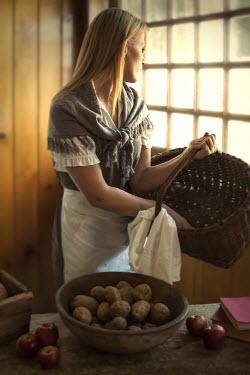 Debra Lill SERVANT GIRL BY WINDOW Women