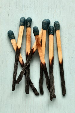Peter Hatter EIGHT BURNT MATCHES Miscellaneous Objects