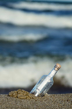 Maria Petkova MESSAGE IN BOTTLE ON BEACH Miscellaneous Objects