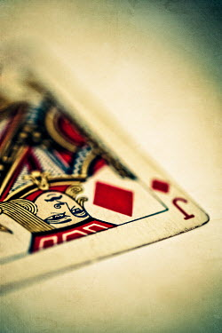 Sally Mundy JACK OF DIAMONDS PLAYING CARD Miscellaneous Objects