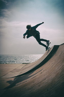 Clayton Bastiani TEENAGE BOY SKATEBOARDING Children