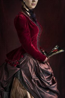 Lee Avison HISTORICAL WOMAN WITH FAN Women