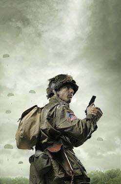 CollaborationJS WW2 US PARATROOPER Men