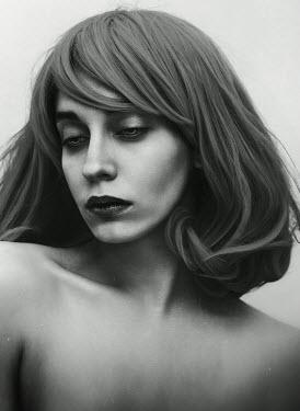 Lidia Vives Rodrigo NAKED YOUNG WOMAN WITH LONG HAIR Women