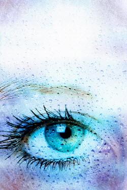Valentino Sani WOMAN'S EYE STARING Body Detail