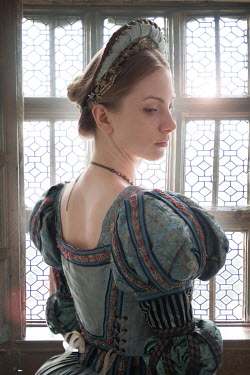 Lee Avison BEAUTIFUL HISTORICAL WOMAN BY WINDOW Women